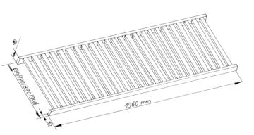 Rahmenrost Technische Zeichnung