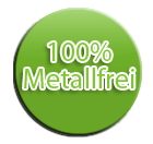 100 Prozent Metallfrei Lattenrost Siegel